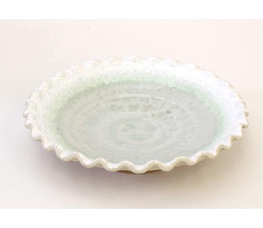 波渕緑雪6.0盛皿
