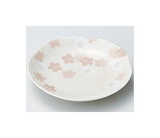 志野さくら梅型皿