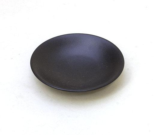 黒マット3.0寸皿