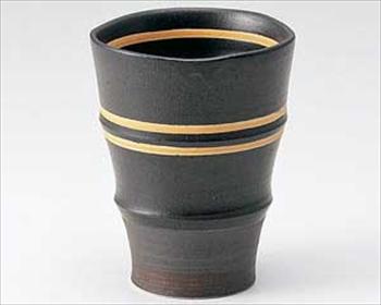アースオレンジフリーカップ(黒)