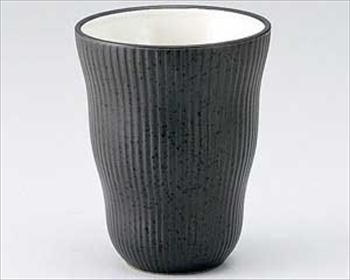 黒油滴リーフフリーカップ
