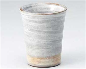 白刷毛フリーカップ