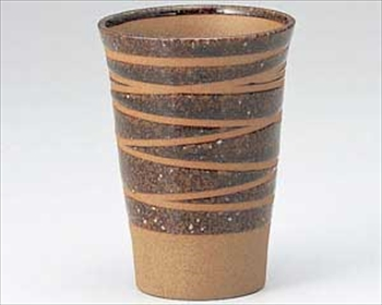 茶ラインフリーカップ