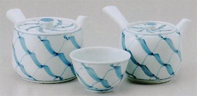 京網大角急須&中丸急須&煎茶(厚口)