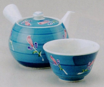 花娘中急須&煎茶(厚口)