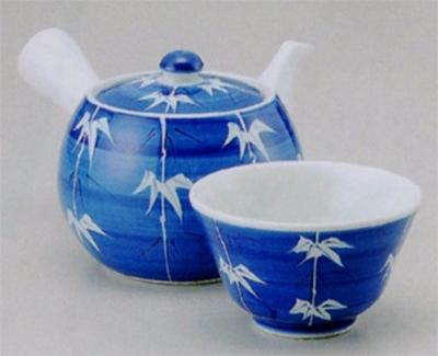 ゴス笹中急須&煎茶(厚口)