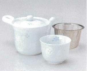 ホタル小花中急須(U)&煎茶