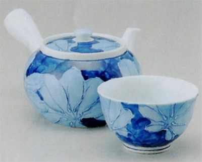 濃葉彩 中急須&反仙茶