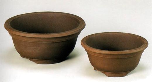 植木鉢 丸サツキ鉢(ウ泥)