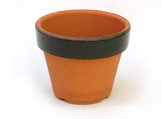 植木鉢 カラーポット(グリーン)