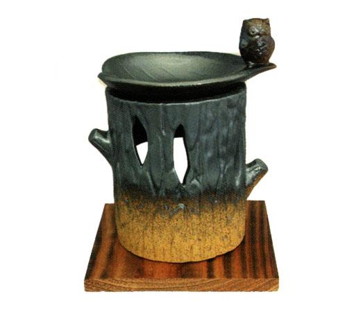 茶香炉 ふくろう