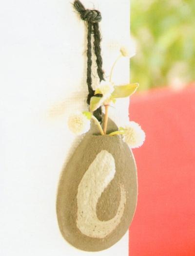 しずく刷毛(掛花) しずく刷毛(掛花) 【信楽焼】 花瓶 しずく刷毛(掛花) - 信楽焼 ホーム