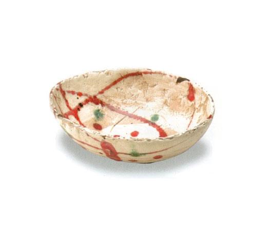 赤絵サラダボール